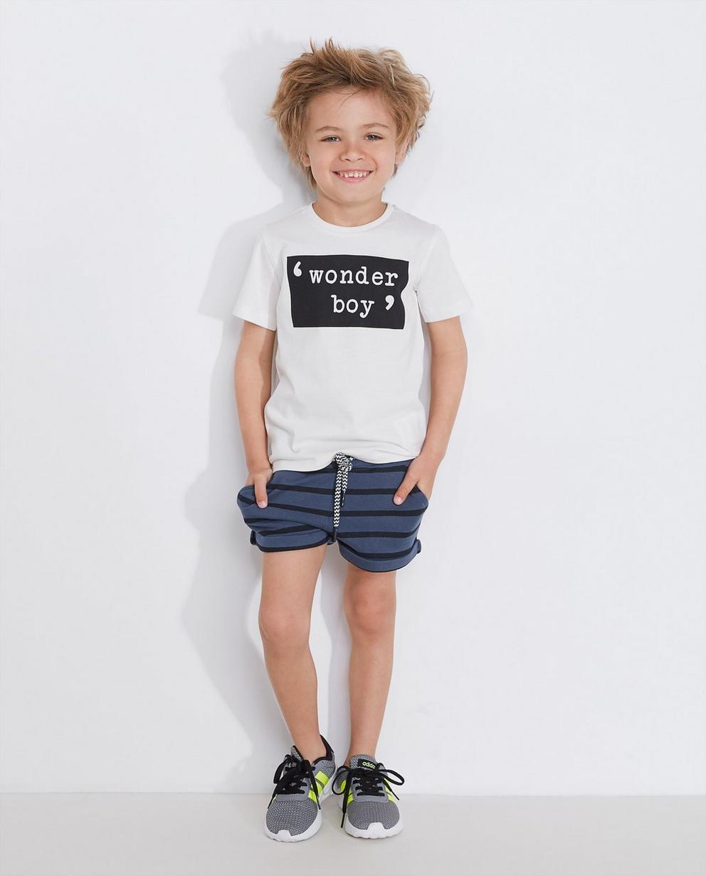 Statement T-shirt - in okergeel, BESTies - Besties